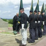 Dedication Service of new Branch Standards Crich 2009. Including Chesterfield.