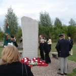 Memorial Stone at the Ash Grove to commerate those who lost their lives in Northern Ireland.