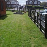 Grass Cut ready for the Parade Sunday and very nice it looks too. Thanks to Lofty.