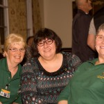 Janet Lawrence, Vickki Penny & Wendy Truswell at Chesterfield Games Night 2014