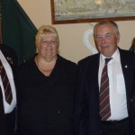 John & Jean Johnson, Terry & Rita Harrison at Chesterfield Branch WFRA 5th Year Anniversary Dinner 2011