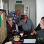 Worksop Games night 2013 with Worksop Branch WFRA members.